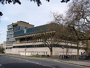 Department of Physics, University of Oxford - The Denys Wilkinson Building from the Banbury Road.