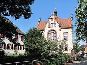 Denzlingen - Image: Denzlingen, das Altes Rathaus foto 4 2013 07 25 10.09
