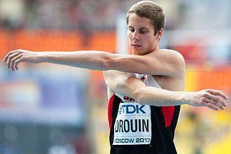 Derek Drouin - Drouin at the 2013 World Championships