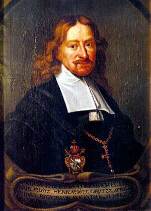 Geisa - Peter Philipp von Dernbach around 1680