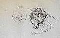Desboutin M. - Ink - Etudes d'enfant dormant - 26,3x16,6cm.jpg