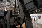 Detail of JGSDF Type 12 SSM launcher unit(04-0604, launch mode) at Niconico chokaigi April 28, 2018 10.jpg
