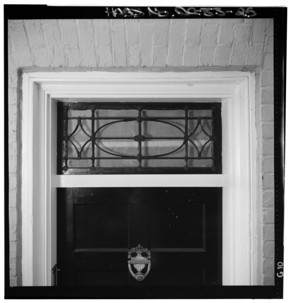 File detail view of transom above front door teresa for Front door with transom above
