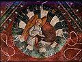 Dettaglio della volta. L'angelo, San Matteo, 1475-77, La Cappella del Collegio Castiglioni.JPG