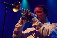 Deutsches Jazzfestival 2013 - Pharoah and the Underground - Rob Mazurek - 01.JPG