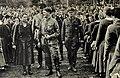 Deutschlanderwac00bade 0 0072 Deutschland erwacht Werden, Kampf und Sieg der NSDAP 1933 060 NS Jugendbewegung Reichsjugendtag in Potsdam 1932 Hitler HJ Nazi salutes Cigaretten-Bilderdienst USHMM No known copyright.jpg