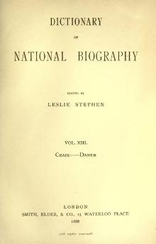 Dictionary of National Biography volume 13.djvu
