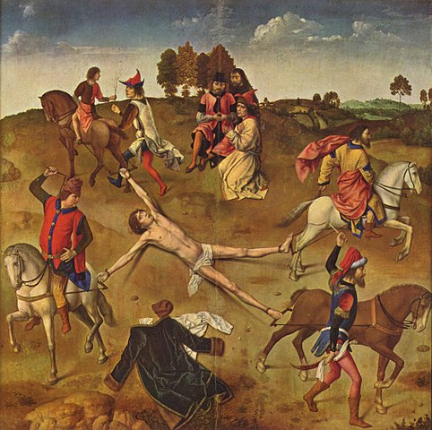 Painting - Martyrdom of St Hippolyte