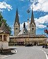 Diex Pfarrkirche hl. Martin mit nördl. Wehrmauer und Friedhofsportal 26052017 8694.jpg