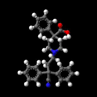 Difenoxin - Image: Difenoxin 3D balls
