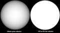 Diffuse reflector sphere disk.png
