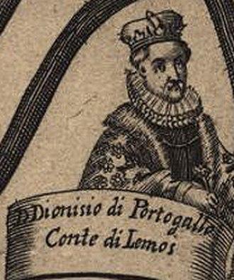 Dinis of Braganza, Count of Lemos - Image: Dinis de Bragança, Conde de Lemos
