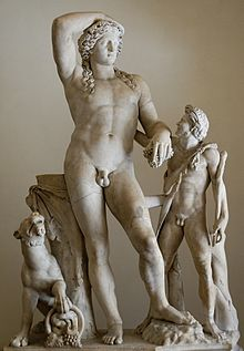 The god of fertility wine agriculture and sexuality was