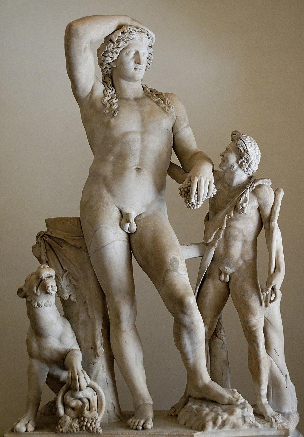 Dionysos satyr Altemps Inv8606