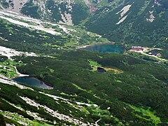 Dolina Kiezmarska, stawy 1