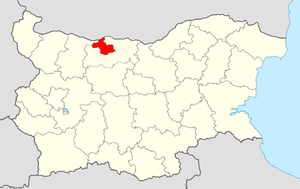 Dolna Mitropoliya Municipality - Image: Dolna Mitropoliya Municipality Within Bulgaria