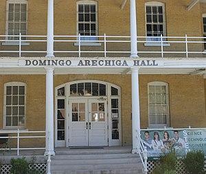 Domingo Arechiga - Domingo Arechiga Hall on the Laredo Community College campus