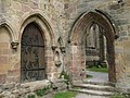Doorways in Bolton Abbey - geograph.org.uk - 1473229.jpg