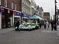 Dorchester, market stalls - geograph.org.uk - 1491017.jpg