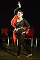 Dorothy Bhattacharya Dancing With Rabindra Sangeet - Sriniketan - Birbhum - 2017-10-21 5166.JPG