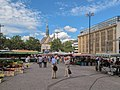 Dortmund, markt op de Hansaplatz foto2 2012-08-04 12.08.jpg