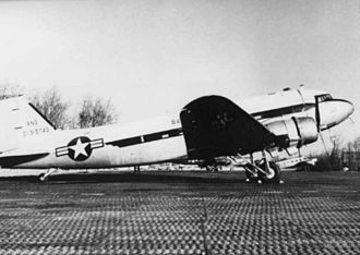 201st Airlift Squadron - The C-47A was flown from 1951 to 1967.