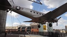 File:Douglas C-47B Raisin Bomber, German Museum of Technology.webm