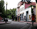 Downtown Fayetteville historic side street.JPG