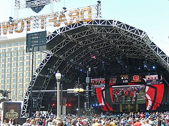 "2015 NFL Draft - ""Selection Square"" at Congress Plaza in Grant Park"