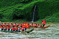 Dragon boat races at Longjiang.jpg