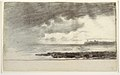 Drawing, Bay at Cullercoats, England, 1881 (CH 18175399-2).jpg