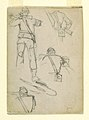 Drawing, Studies of Soldiers Taking Aim, 1862 (CH 18174059).jpg