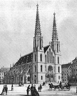 Dresden Sophienkirche Lithographie