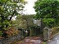 Driveway to Wainstalls House Lodge - geograph.org.uk - 1293546.jpg