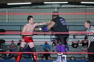 Finn Bálor - Devitt squaring off with Dru Onyx