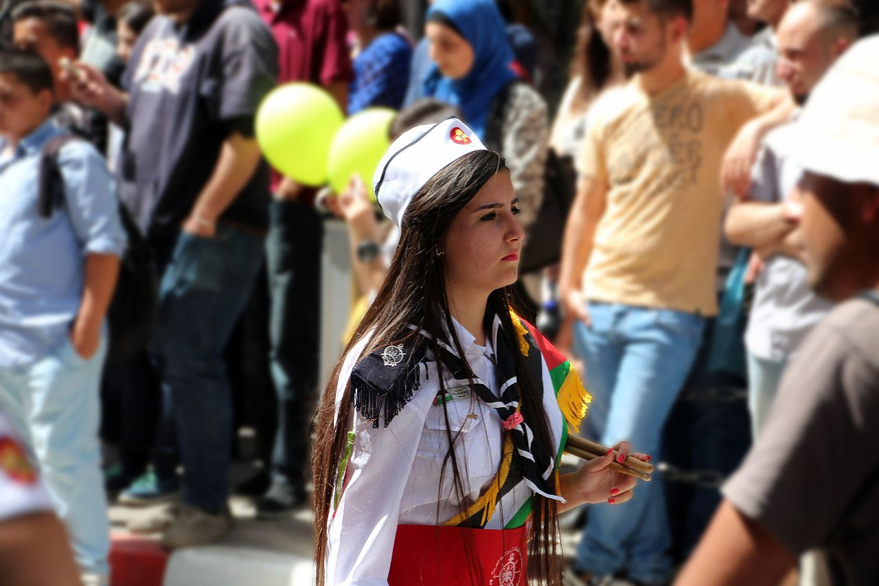 Drummer from Gaza Scout Group.jpg