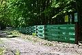 Dubechne Starovyzhivskyi Volynska-Dubechnivskyi park architecture monument-fence.jpg