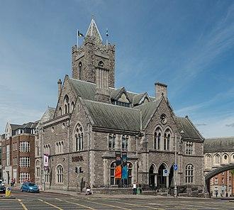 Dublinia - Synod hall, the building that houses Dublinia