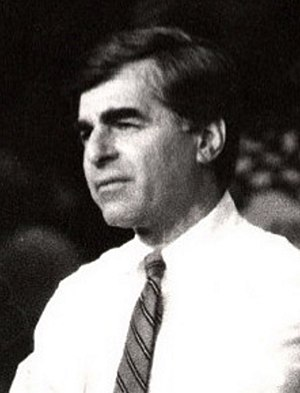 United States presidential election in Pennsylvania, 1988 - Image: Dukakis 1988rally cropped