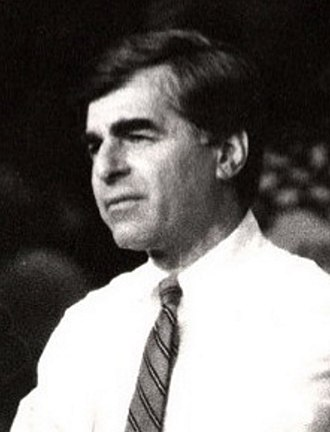 United States presidential election in Georgia, 1988 - Image: Dukakis 1988rally cropped