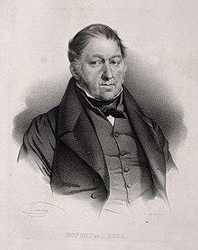 Gravure représentant Dupont de l'Eure dans les années 1850.