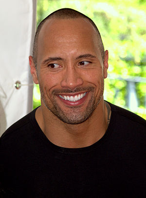 Dwayne Johnson at the 2009 Tribeca Film Festival.