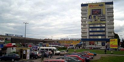 Olsztyn Główny W Olsztyn City Autobus Tramwaj Lub Kolej