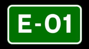 N25 road (Ireland) - Image: E 01 euroroute IE