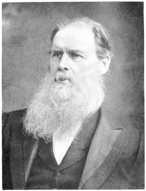 E. B. Tylor portrait. Folk-Lore, vol. 28