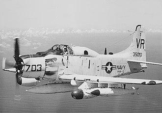 VAQ-130 - VAW-13 EA-1F in 1966