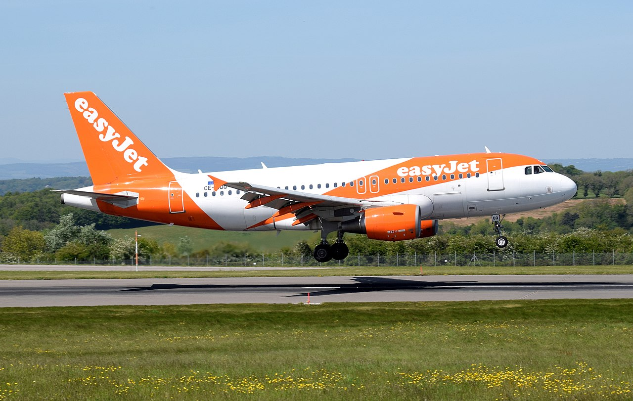 Top low cost airlines: Easyjet