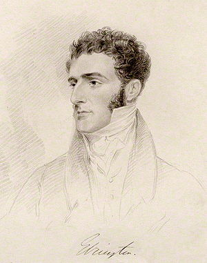 Hugh Fortescue, 2nd Earl Fortescue - Portrait of Hugh Fortescue when Viscount Ebrington, painted between 1826–1841 by Frederick Christian Lewis Sr, after Joseph Slater. National Portrait Gallery, London, NPG D20597