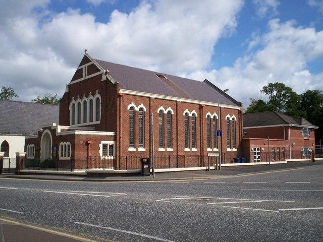 Edenderry Memorial Methodist Church, Portadown - geograph.org.uk - 507828