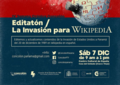 Editaton La Invasion para Wikipedia.png